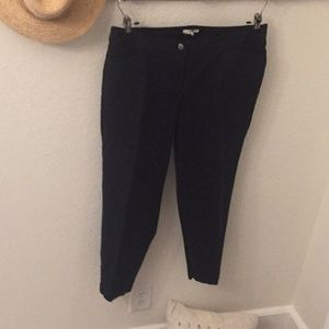 Eileen Fisher black casual pants